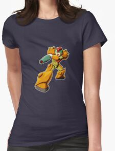 Mega Man X Varia Suit Womens Fitted T-Shirt