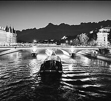 Pont Napoleon, La Conciergerie, Paris  by aldogallery