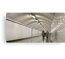 underground tunnel Canvas Print