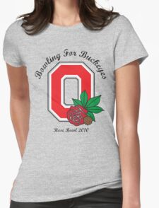 Bowling For Buckeyes Womens Fitted T-Shirt