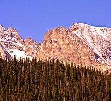 Continental Divide - Indian Peaks - Sunrise by Bo Insogna