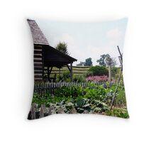 Buffalo Springs Herb Farm_Kitchen Garden Throw Pillow