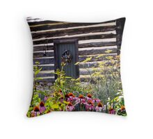 Buffalo Springs Herb Garden Throw Pillow
