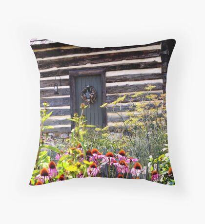 Buffalo Springs Herb Garden Throw Pillow