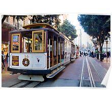 San Fransisco Trolley 1 Poster