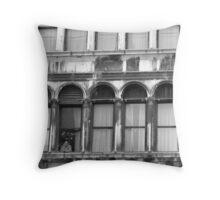 Venician window Throw Pillow
