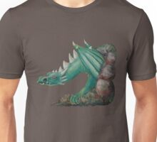 Forest Dragon (with background removed) Unisex T-Shirt