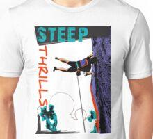 Steep Thrills Climbing 1 Unisex T-Shirt