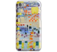 Horn Solo, abstract original oil painting on canvas iPhone Case/Skin