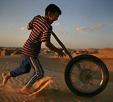 Damla Oasis, Karakum desert, Turkmenistan by Christopher Herwig