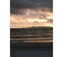 Sardinia Summer Storm Photographic Print