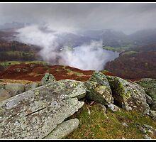 Mist above Grasmere by Shaun Whiteman