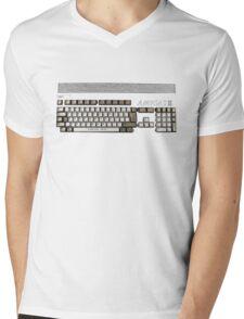 Classic 80's Keyboard Design Mens V-Neck T-Shirt
