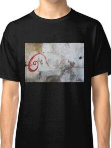 Red Swirl Classic T-Shirt