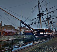 The Tall Ship by WhartonWizard