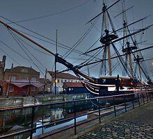 The Tall Ship by WhartonWizard