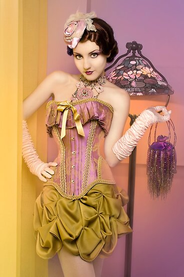 30s Glam III by phantomorchid