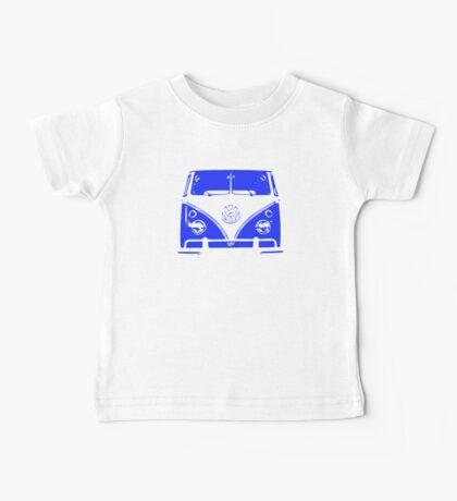 VW Kombi - Blue Baby Tee