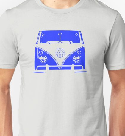 VW Kombi - Blue Unisex T-Shirt