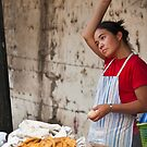 Cooking on the Streets of Argentina by Kent DuFault