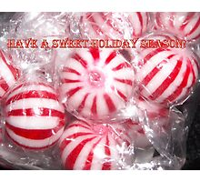 Sweet Holiday Card Photographic Print