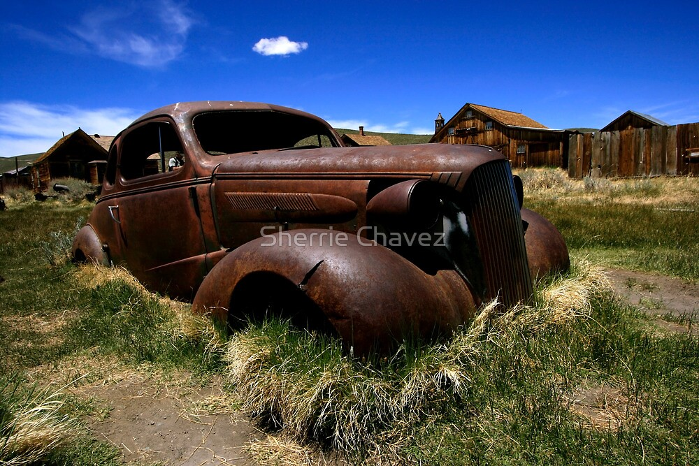 Old Bodie Car by Sherrie Chavez