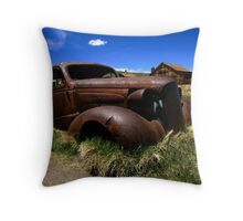 Old Bodie Car Throw Pillow