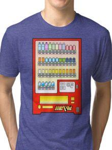 Yowamushi Pedal Stage Play Vending Machine Tri-blend T-Shirt