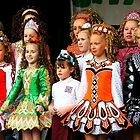 Dancing girls by David  Parkin