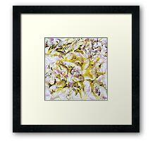Neurology acrylic painting on panel Framed Print