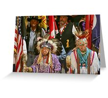 Patriots Greeting Card