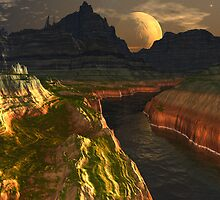Black River Canyon by AlienVisitor