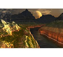 Black River Canyon Photographic Print