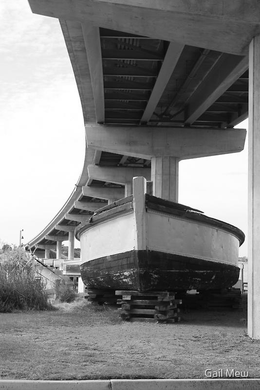 """The Barge Dart, Goolwa, SA"" by Gail Mew"