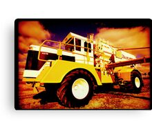 Big Equipment Canvas Print