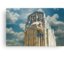The Guardians of Traffic - Cleveland, Ohio Canvas Print