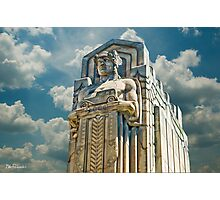 The Guardians of Traffic - Cleveland, Ohio Photographic Print