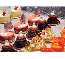 Le Dessert Photographic Print