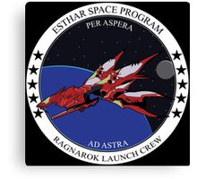 Ragnarok launch crew Canvas Print