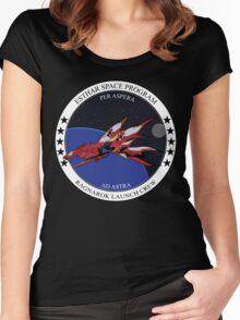 Ragnarok launch crew Women's Fitted Scoop T-Shirt