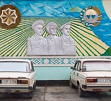 Nukus, Karakalpakstan, Uzbekistan by Christopher Herwig