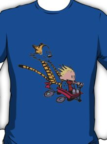 calvin and hobbes speed T-Shirt