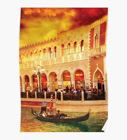 Life at the Palazzo Poster