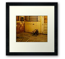 .after hours. Framed Print