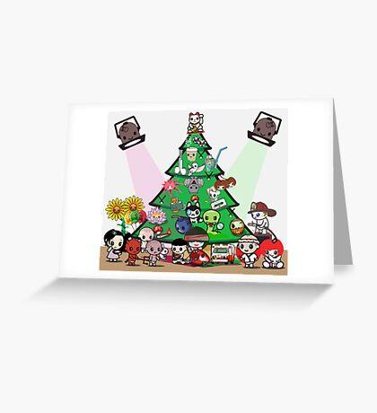 mikoto's Christmas Greeting Card