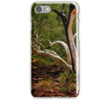 A Ghost Gum at Kings Canyon iPhone Case/Skin