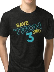 Save Tron 3 [color] Tri-blend T-Shirt