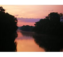 Pastel freshwater Photographic Print