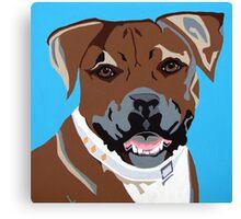 Roxy - Boxer Canvas Print