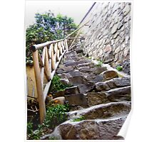 Stone Stairs. Poster